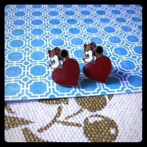 ❤️ Disney Minnie Mouse post earrings vintage ❤️